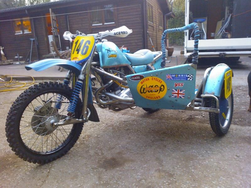 Norton Wasp 920cc.